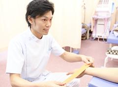 膝の痛み施術の流れ
